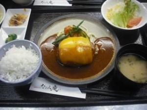 チーズハンバーグ (1)