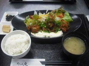 唐揚げチキン南蛮定食